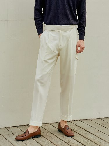 RENEWAL Gurkha pants(Cream)